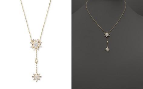 Diamond Starburst Drop Pendant Necklace in 14K Yellow Gold, .40 ct. t.w. - Bloomingdale's_2