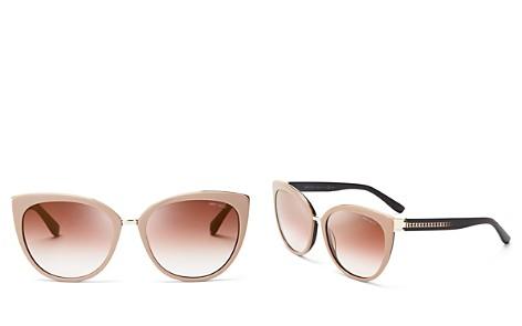 Jimmy Choo Mirrored Dana Cat Eye Sunglasses, 56mm - Bloomingdale's_2