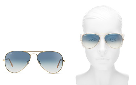 Ray-Ban Unisex Classic Aviator Sunglasses, 62mm - Bloomingdale's_2