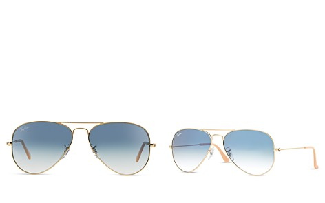 Ray-Ban Classic Brow Bar Aviator Sunglasses, 62mm - Bloomingdale's_2