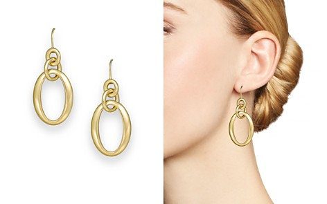 IPPOLITA 18K Gold Glamazon Short Oval Link Earrings - Bloomingdale's_2