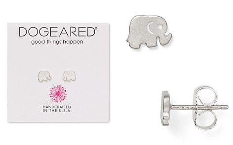 Dogeared Elephant Stud Earrings - Bloomingdale's_2