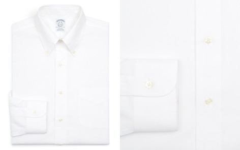 Brooks Brothers Basic Solid Non-Iron Dress Shirt - Bloomingdale's_2