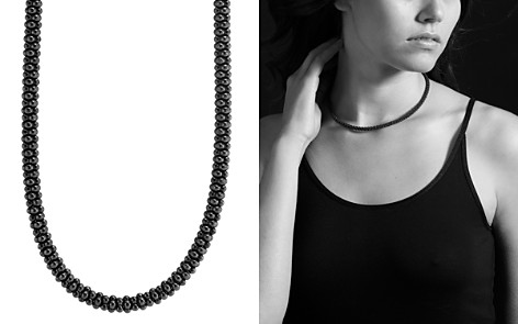 "LAGOS Black Caviar Ceramic Necklace with 18K Gold, 16"" - Bloomingdale's_2"