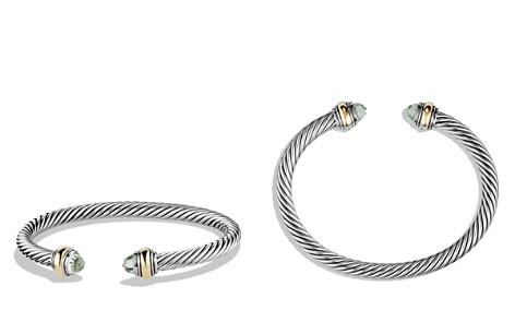 David Yurman Cable Classics Bracelet with Prasiolite - Bloomingdale's_2
