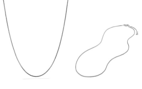David Yurman Box Chain Necklace with Silver and Gold - Bloomingdale's_2