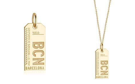 Jet Set Candy Barcelona, Spain BCN Luggage Tag Charm - Bloomingdale's_2