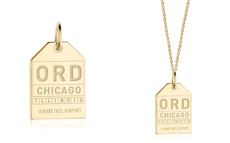Jet Set Candy ORD Chicago Luggage Tag Charm - Bloomingdale's_2
