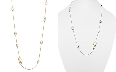 "Roberto Coin 18K Yellow Gold Mother-of-Pearl Necklace, 31"" - Bloomingdale's_2"