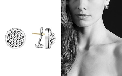 "LAGOS Sterling Silver ""Caviar"" Button Earrings - Bloomingdale's_2"