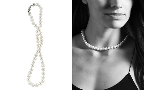 "LAGOS Sterling Silver Luna Pearl Necklace, 18"" - Bloomingdale's_2"
