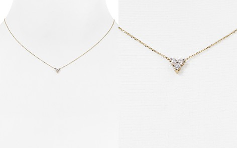 "Adina Reyter Diamond Cluster Necklace, 15"" - Bloomingdale's_2"