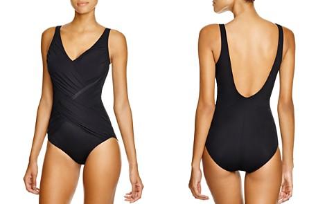 Gottex Lattice One Piece Swimsuit - Bloomingdale's_2
