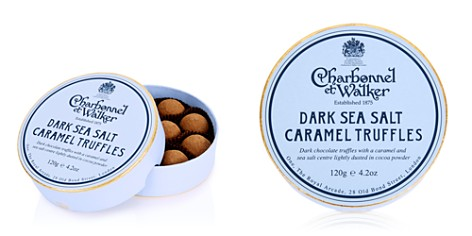 Charbonnel et Walker Dark Sea Salt Caramel Truffles - Bloomingdale's_2
