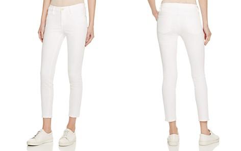 FRAME Le Color Crop Jeans in Blanc - Bloomingdale's_2