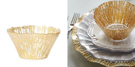 VIETRI Rufolo Glass Gold Small Deep Bowl - Bloomingdale's Registry_2