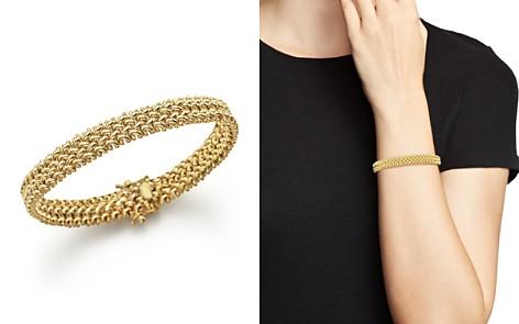 14K Yellow Gold Crisscross Bracelet - 100% Exclusive - Bloomingdale's_2
