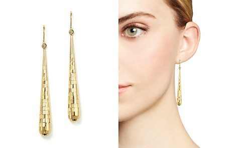 14K Yellow Gold Teardrop Drop Earrings - 100% Exclusive - Bloomingdale's_2
