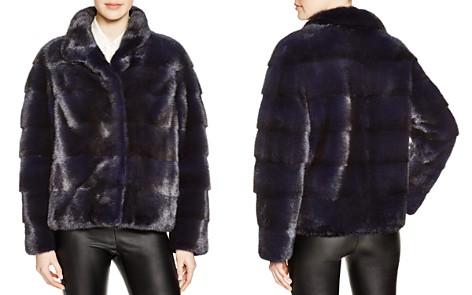 Maximilian Grooved Mink Fur Coat - Bloomingdale's_2