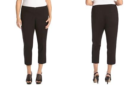 Karen Kane Plus Slim Capri Pants - Bloomingdale's_2