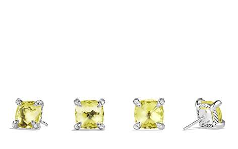 David Yurman Châtelaine Earrings with Lemon Citrine and Diamonds - Bloomingdale's_2