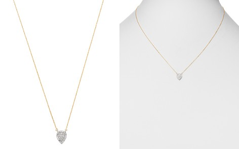 "Adina Reyter Solid Pave Teardrop Necklace, 17"" - Bloomingdale's_2"