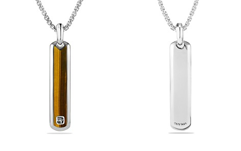 David Yurman Exotic Stone Tag with Tigers Eye - Bloomingdale's_2