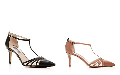 SJP by Sarah Jessica Parker Carrie T Strap Pointed Toe Pumps - Bloomingdale's_2