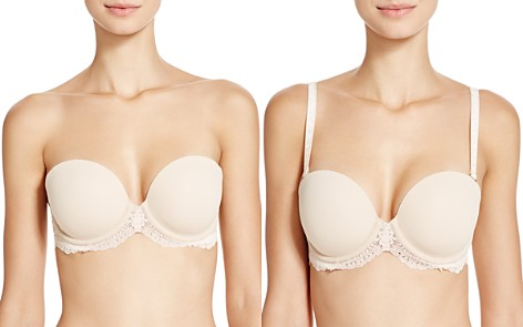 Stella McCartney Smooth & Lace Strapless Bra - Bloomingdale's_2