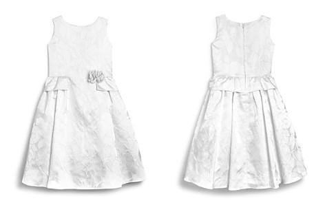 US Angels Girls' Brocade Flower Girl Dress - Little Kid - Bloomingdale's_2
