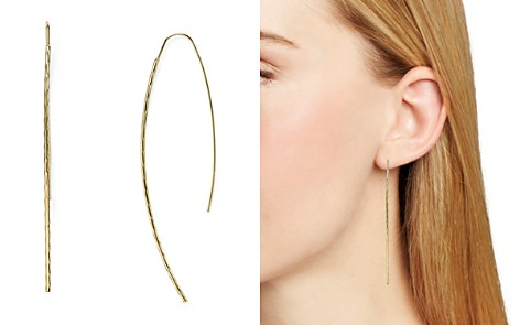 AQUA Desi Hammered Threader Earrings - 100% Exclusive - Bloomingdale's_2