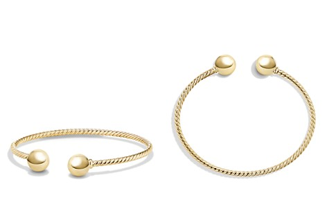 David Yurman Solari Bead Cuff Bracelet in 18K Gold - Bloomingdale's_2