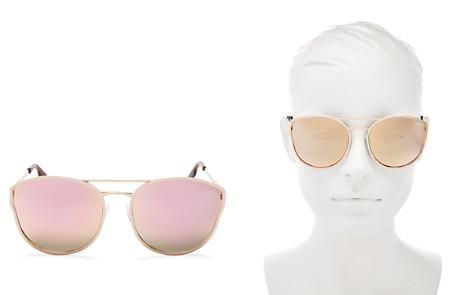 Quay Women's Cherry Bomb Mirrored Brow Bar Cat Eye Sunglasses, 60mm - Bloomingdale's_2