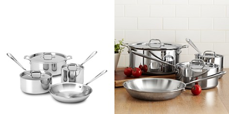 All Clad Stainless Steel 7-Piece Cookware Set - 100% Exclusive - Bloomingdale's Registry_2