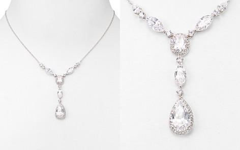 "Nadri Pear Shaped Drop Lariat Necklace, 16"" - Bloomingdale's_2"