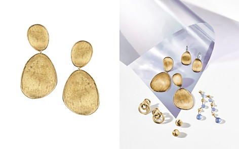 Marco Bicego 18K Yellow Gold Lunaria Two Drop Earrings - Bloomingdale's_2
