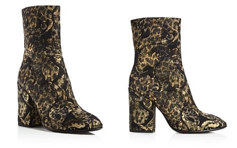 Ash Flora Embroidered Block Heel Booties - 100% Exclusive - Bloomingdale's_2