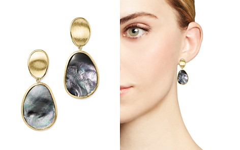 Marco Bicego 18K Yellow Gold Lunaria Black Mother-Of-Pearl Double Drop Earrings - Bloomingdale's_2
