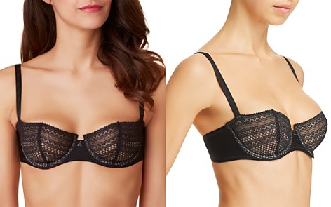 Passionata by Chantelle Cheeky Unlined Demi Bra - Bloomingdale's_2