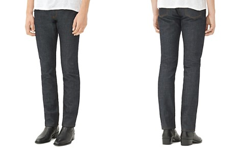 Sandro Jea Pixies Straight Fit Jeans in Raw Denim - Bloomingdale's_2