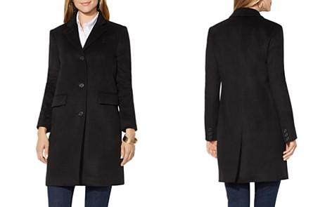 Lauren Ralph Lauren Flap Pocket Reefer Coat - Bloomingdale's_2
