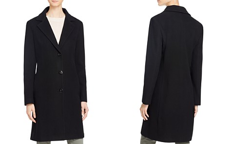 Calvin Klein Single-Breasted Button Front Coat - Bloomingdale's_2