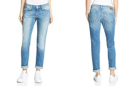 Mavi Emma Slim Boyfriend Jeans in Mid Shaded Vintage - Bloomingdale's_2