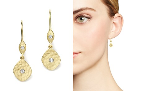 Meira T 14K Yellow Gold Kite Disc Earrings with Diamonds - Bloomingdale's_2