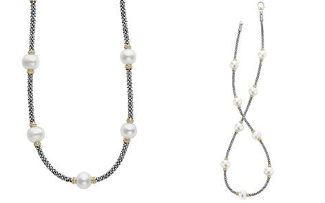 """LAGOS 18K Gold and Sterling Silver Luna Rope Necklace with Cultured Freshwater Pearls, 16"""" - Bloomingdale's_2"""