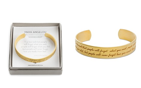 "Dogeared Maya Angelou Legacy Collection ""I've Learned..."" Bracelet - Bloomingdale's_2"