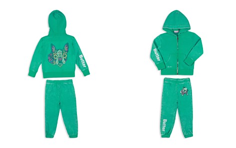 Butter Girls' Dog Hoodie & Jogger Set - Sizes 2-4T - Bloomingdale's_2