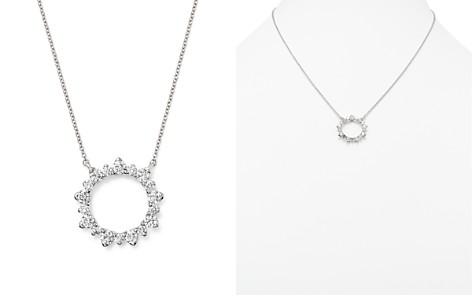 Diamond Pendant Necklace in 14K White Gold, 1.50 ct. t.w. - 100% Exclusive - Bloomingdale's_2