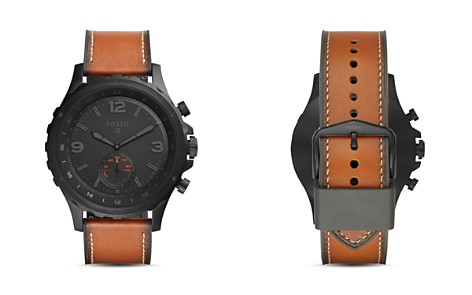 Fossil Q Nate Hybrid Smartwatch, 50mm - Bloomingdale's_2