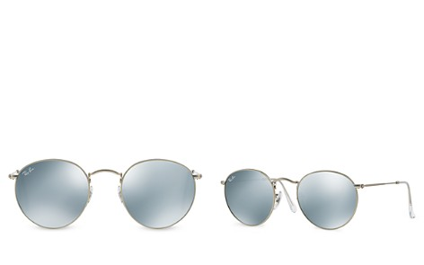 Ray-Ban Unisex Icons Mirrored Round Sunglasses, 51mm - Bloomingdale's_2